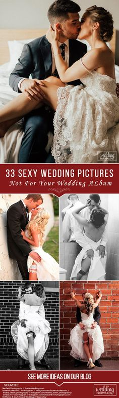 33 Sexy Wedding Pictures Not For Your Wedding Album ❤If you want to add some passion to your wedding photos, look through our listing of sexy wedding pictures and borrow some ideas for your photo session. See more: http://www.weddingforward.com/sexy-wedding-pictures/ #weddings #photography