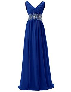 Dresstells® Women's V Neck Open Back Prom Dress With Beading Evening Party Dress Dresstells http://www.amazon.co.uk/dp/B01BTOF6LS/ref=cm_sw_r_pi_dp_S561wb0658HWJ