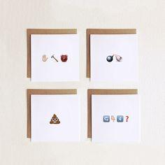 Send emojis via snail mail. http://go.brit.co/1rdNffc