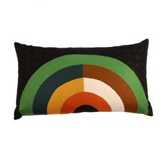 Nushka - 'Bow' hand-stitched embroidered cushion £ 245 - Lindell & Co - Cushions
