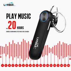 Wireless Headphone Handsfree Bluetooth CSR 4.1 Portable In-Ear Earphone Earbuds Case With Mic Noise Cancelling For Mobile Phone