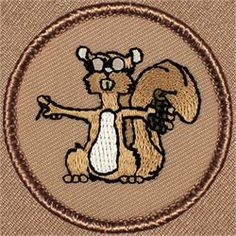 Exploding Squirrel Patrol Patch (#295)