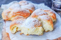 Goal - Italian Pastries Pastas and Cheeses Italian Pasta Recipes, Italian Desserts, Great Desserts, Dessert Recipes, Cheese Croissant, Italian Pastries, Italian Cake, Pan Dulce, Pastry Cake