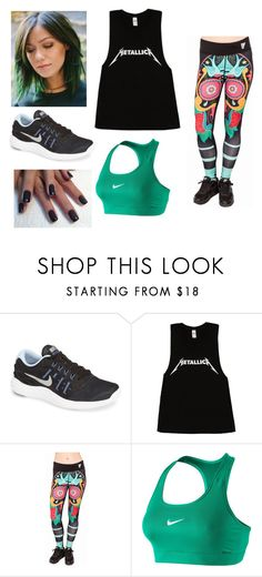 """""""Untitled #1189"""" by amanda-gail on Polyvore featuring NIKE"""