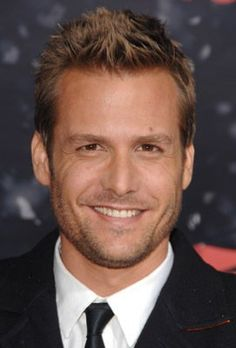 Gabriel Macht - I like this look just as much as I like the Harvey Specter look...