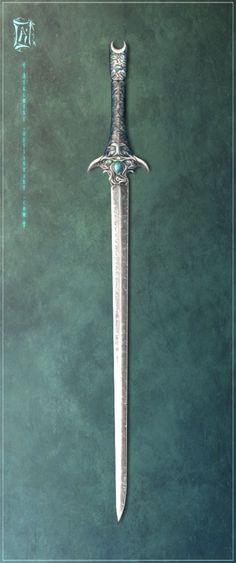 Nelri Blade Concept - II by Aikurisu on deviantART