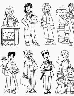 Ensinando com Carinho: Dia do trabalho