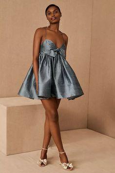 Watters Pixie Silk Mini Dress | Anthropologie