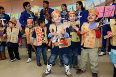 "David Arita (front), 4 and other from Carvalal Early Childhood Education Center sing as they and Lanier High School presented ""Heart and Soul of the Westside"" at the Good Samaritan Community Center, 1600 Saltillo St., on Thursday, March 5, 2015.  Lanier students performed original poetry they wrote during a joint workshop with the senior citizens at the center in January, Carval students sang for the seniors with support from Lanier mariachis, and local poets read to the assembly.  The…"