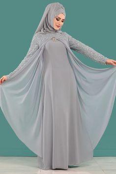 Hijab evening dresses - hijab dresses and evening dresses prices Page 7 Hijab Evening Dress, Hijab Dress Party, Evening Dresses, Abaya Fashion, Muslim Fashion, Fashion Dresses, Chiffon Hijab, Muslimah Wedding Dress, Modele Hijab