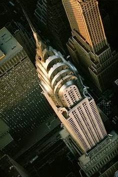 The Art Deco style skyscraper - New York City - Chrysler Building
