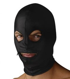 Introducing Strict Leather Spandex Zipper Mouth Hood With Eye Holes. Great product and follow us for more updates!