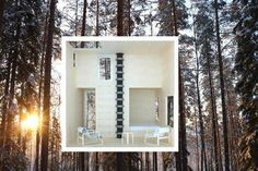 Treehouse hotel in Northern Sweden.