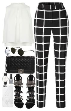 """""""#702"""" by bella2015 ❤ liked on Polyvore featuring Giuseppe Zanotti, Native Union, Chanel, Daniel Wellington and OPI"""