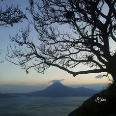 Atardecer en el mejor lago del mundo! :D Atitlán Sololá