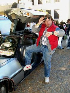 Super sweet Marty McFly Costume for an #80s party or Halloween!  http://www.liketotally80s.com/80s-costume-marty-mcfly.html
