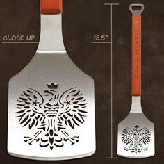 SPORTULA Spatula - Polish Eagle there could NOT be a more PERFECT gift for my dad. Smacznego! :D