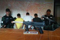 GNB desmanteló 12 bandas delictivas e incautó 18 armas en un operativo en el…
