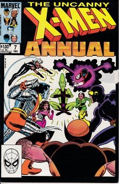 Uncanny X-Men Annual 7 1983 Issue Marvel Comics by ViewObscura