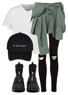 """#Untitled27"" by dpgx ❤ liked on Polyvore featuring Topshop, rag & bone and Faith Connexion"