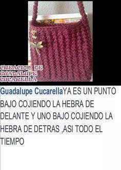 Punto sacado por Guadalupe Cucarella