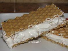 Napolitane cu crema alba si cereale crocante - imagine 1 mare