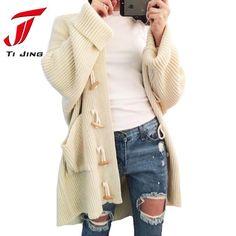 Single Breasted Cardigan Sweaters