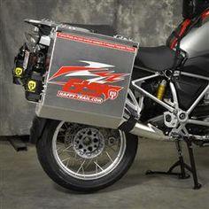 Happy Trial - Aluminum Pannier Kit DENALI  BMW R1200GSW DENALI PANKIT R1200GSW