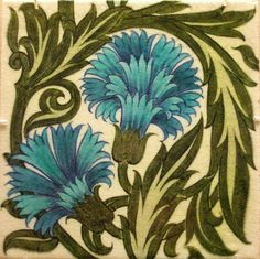 Tile - William De Morgan by Kotomicreations, via Flickr
