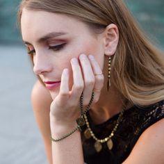 WANDERLUST EARRING by Katie Dean Jewelry.
