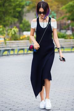 11 Minimalistic Looks That Are Perfect for Summer Heat via @WhoWhatWear