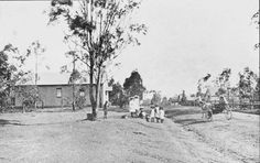 Main St,Blacktown in western Sydney in Prospect Heritage Trust. Old Pictures, Old Photos, Vintage Photos, Vintage Stuff, Colonial Art, Australian Continent, Largest Countries, Teaching History, Small Island