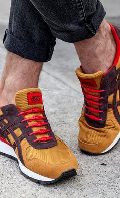 Hickies modern shoelaces + asics <3