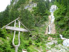 Cascada cailor, Maramures County, Romania Outdoor Furniture, Outdoor Decor, Romania, Arch, Outdoor Structures, Places, Garden, Waterfalls, Longbow