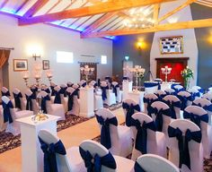 Chair Cover Hire | Sash Bows Hire | Wedding Table Swagging & Venue Styling | Sophisticated Events