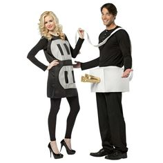 For a daring couple. Light up your party with this humorous costume. Poly foam socket tunic, and plug waist band. Includes two costumes for the price of one. Li