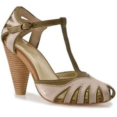 vintage T-Strap heels