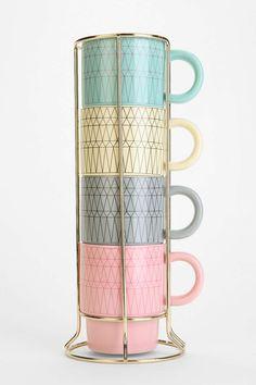 Cappuccino Gem Mug Set