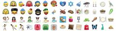 Emojew is the world's first Jewish emoji app. App was created by Baumann Ber Rivnay – Saatchi & Saatchi Tel Aviv for an Israeli organization Latet in order to bypass the problem of  'text message donations'  that where blocked by cellular operators. Make your family and friends happy, send them messages with funny icons for the Holidays.(...)