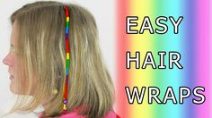 DIY Learn How to Make Hair Wrap (Wraps, Braid, Floss, Dread, Thead, Drea...