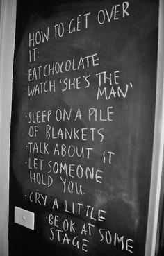 breakup advice