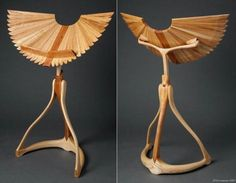 winged music stand.. Just pretty :)