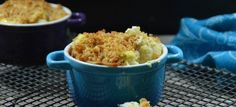 Crumble de choux fleur Macaroni And Cheese, Grains, Rice, Ethnic Recipes, Kitchen, Food, Salads, Velveeta Macaroni And Cheese, Simple House