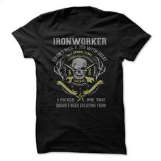 Job - Ironworker - #tee #retro t shirts. MORE INFO => https://www.sunfrog.com/Jobs/Job--Ironworker.html?60505