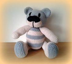 Crochet Teddy Bear Naturie by CrochetlandRV on Etsy