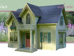 A gallery of work by artisan and miniaturist architect, and designer, Pat Balazs