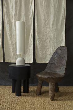 Malgorzata Bany installs jesmonite furniture at The New Craftsmen for LDF exhibition Furniture Logo, Cheap Furniture, Online Furniture, Home Furniture, Furniture Sets, Furniture Design, Furniture Market, Metal Furniture, Home Interior