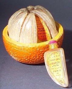 Флакон французских духов L'Orange Variee, 1925 г.