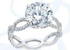beautiful stunning diamond engagement ring