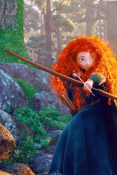 Brave - merida - disney wallpaper